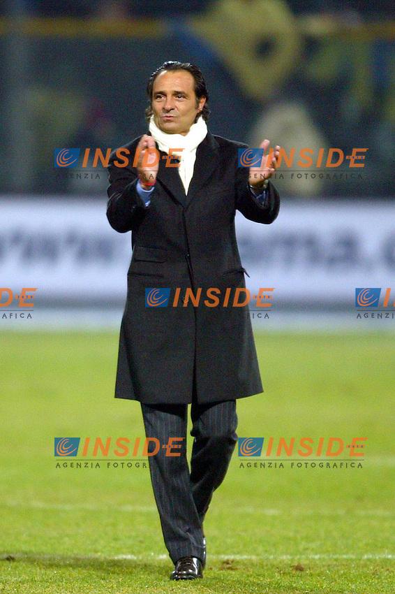 Parma 10/1/2004<br /> Parma Inter 1-0<br /> Cesare Prandelli, Parma trainer<br /> Photo Andrea Staccioli Insidefoto