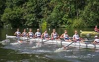 Henley Royal Regatta, Henley on Thames, Oxfordshire, 28 June - 2 July 2017.  Friday  10:31:13   30/06/2017  [Mandatory Credit/Intersport Images]<br /> <br /> Rowing, Henley Reach, Henley Royal Regatta.<br /> <br /> The Temple Challenge Cup<br />  University of Groningen, Netherlands