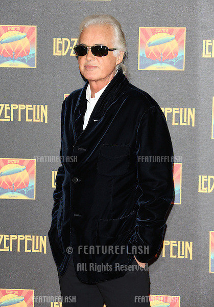 Jimmy Page at the Led Zeppelin Celebration Day DVD screening launch held at Hammersmith Apollo.London. 12/10/2012 Picture by: Henry Harris / Featureflash