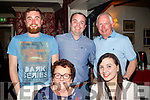 Still 29<br /> ---------<br /> Declan Ryan from Kilmoyley, back centre, celebrated his 30th birthday with family last Saturday night in Cassidy's, Tralee, seated L-R Breda&amp;Maria Ryan, back L-R David, Declan&amp;Fintan Ryan.