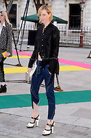 Edie Campbell at the Royal Academy of Arts Summer Exhibition 2015 at the Royal Academy, London. <br /> June 3, 2015  London, UK<br /> Picture: Dave Norton / Featureflash