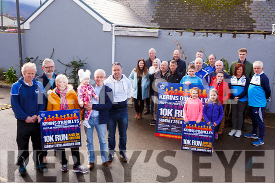 Launching the Kerins O&rsquo;Rahillys Pro Plan Fun Run 10k fundraiser at their clubrooms on Saturday last.<br /> Front left, l to r, Frank O&rsquo;Connor, Mike Griffin, Cathroina O&rsquo;Sullivan, Katie Cunningham and John Griffin.