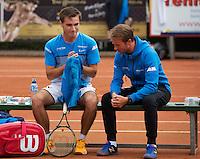 Simpeled, Netherlands, 19 June, 2016, Tennis, Playoffs Eredivisie Men, Guy den Heyer, team Nieuwekerk<br /> Photo: Henk Koster/tennisimages.com