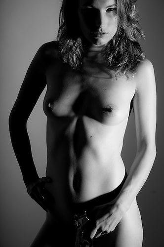 Female nude studio shoot..Model Ayla Hollie, http://www.modelmayhem.com/2384828.