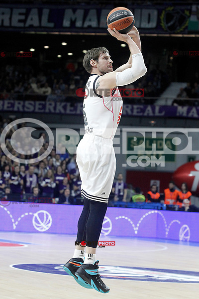 Real Madrid's Andres Nocioni during Euroleague match.January 22,2015. (ALTERPHOTOS/Acero) /NortePhoto<br />