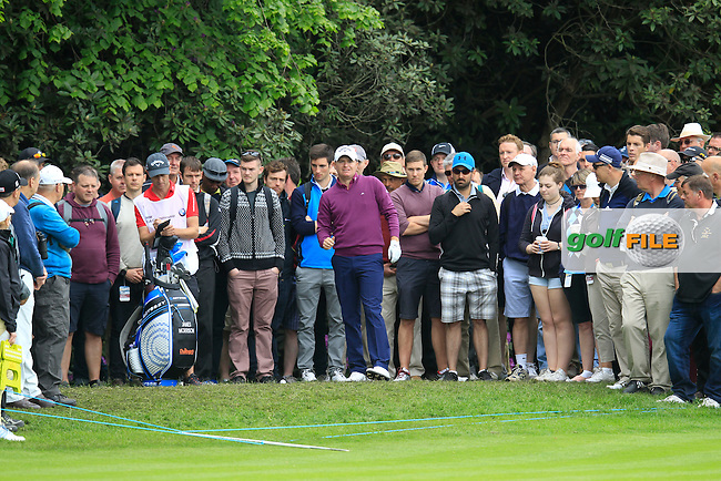 James MORRISON (ENG) during round 2 of the 2015 BMW PGA Championship over the West Course at Wentworth, Virgina Water, London. 22/05/2015<br /> Picture Fran Caffrey, www.golffile.ie: