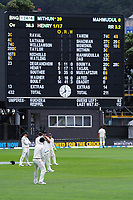 The Black Caps slips cordon during day five of the international cricket match between NZ Black Caps and Bangladesh at the Basin Reserve in Wellington, New Zealand on Tuesday, 12 March 2019. Photo: Dave Lintott / lintottphoto.co.nz