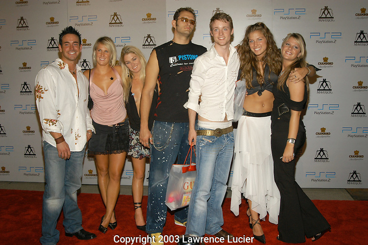 Cast of MTV Real World - Paris