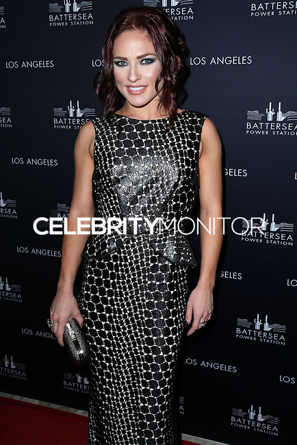 WEST HOLLYWOOD, CA, USA - NOVEMBER 06: Sharna Burgess arrives at the Battersea Power Station Global Launch Party held at The London Hotel West Hollywood on November 6, 2014 in West Hollywood, California, United States. (Photo by Xavier Collin/Celebrity Monitor)