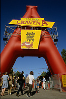 July 1997 file photo - Montreal Qc) CANADA - Festival Juste Pour Rire - sponsored by cigarette brand CRAVEN A.