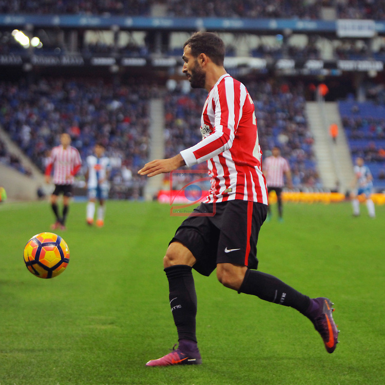 League Santander 2016/2017. Game: 11.<br /> RCD Espanyol vs Athletic Club: 0-0.<br /> Mikel Balenziaga.