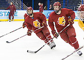 - The Ferris State University Bulldogs practiced on Friday, April 6, 2012, during the 2012 Frozen Four at the Tampa Bay Times Forum in Tampa, Florida.