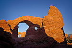 South Window Viewed through Turret Arch, Arches National Park, Utah.  Available in sizes up to 30 x 45 inches.