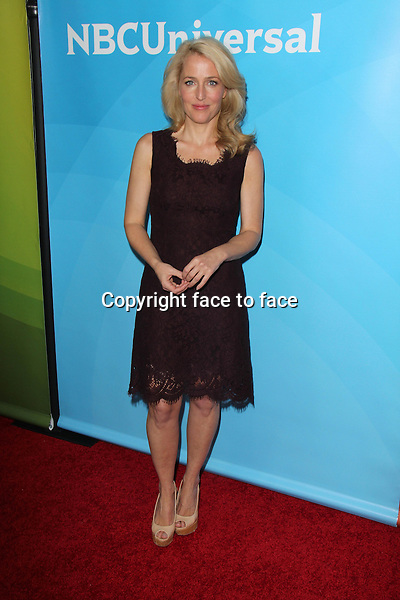 PASADENA, CA - January 19: Gillian Anderson at the NBC-Universal 2014 TCA Winter Press Tour, Langham Huntington Hotel and Spa, Pasadena, January 19, 2014.<br />
