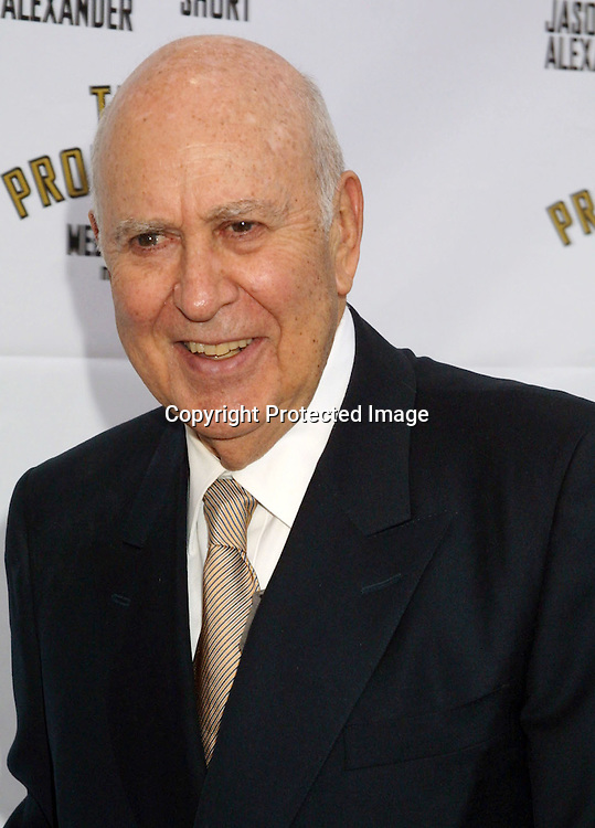 "©2003 KATHY HUTCHINS / HUTCHINS PHOTO.OPENING OF THE PLAY, ""THE PRODUCERS"".PANTAGES THEATER.LOS ANGELES, CA.MAY 29, 2003..CARL REINER"