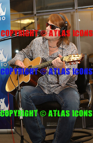 Don Dokken; Dokken; At Sirius Satelite Radio: 2005; New York;<br /> Photo Credit: Eddie Malluk/Atlas Icons.com