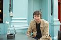 Ian Rankin ,Scottish author, in Edinbburgh.  CREDIT Geraint Lewis