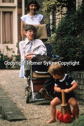 Stephen Hawking, 1981 Cambridge UK