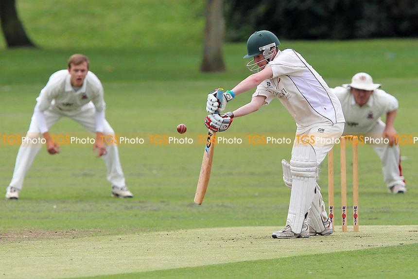 Hornchurch CC (fielding) vs Upminster CC - Essex Cricket League at Harrow Lodge - 01/09/12 - MANDATORY CREDIT: Gavin Ellis/TGSPHOTO - Self billing applies where appropriate - 0845 094 6026 - contact@tgsphoto.co.uk - NO UNPAID USE.