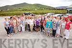 The Kerry Federation of the ICA celebrated their 60th anniversary with a trip around South Kerry on Sunday pictured here at Renard GAA grounds the North & South Kerry Guilds, the group visited Valentia and Ballinskelligs and ended the evening with dinner in the Ring of Kerry Hotel in Cahersiveen.