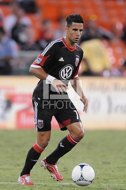 D.C. United midfielder Marcelo Saragosa (11)  The New York Red Bulls tied D.C. United 2-2 at RFK Stadium, Wednesday August 29, 2012.