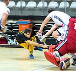 Almere - Zaalhockey  Amsterdam-Den Bosch (m) . Austin Smith (Den Bosch) .    TopsportCentrum Almere.    COPYRIGHT KOEN SUYK