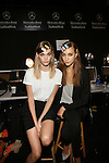 Backstage  at MBFW Spring 2015 NY Reem Acra