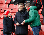 Sheffield Utd fans during the Premier League match at Bramall Lane, Sheffield. Picture date: 9th February 2020. Picture credit should read: Simon Bellis/Sportimage