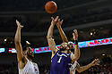 March 1, 2014: Terran Petteway (44) of the Nebraska Cornhuskers and Walter Pitchford (35) of the Nebraska Cornhuskers  tries to block Drew Crawford (1) of the Northwestern Wildcats during the first half at the Pinnacle Bank Arena, Lincoln, NE. Nebraska 54 Northwestern 47.