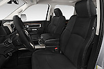 Front seat view of a 2015 Ram 3500 Laramie 4 Door Van front seat car photos