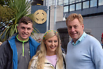 17-1-2017: Luke, Tara and Vince Casey, Killarney at the All-Ireland Football final at Croke Park on Sunday.<br /> Photo: Don MacMonagle