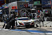 IMSA WeatherTech SportsCar Championship<br /> Advance Auto Parts SportsCar Showdown<br /> Circuit of The Americas, Austin, TX USA<br /> Saturday 6 May 2017<br /> 93, Acura, Acura NSX, GTD, Andy Lally, Katherine Legge pit stop<br /> World Copyright: Richard Dole<br /> LAT Images<br /> ref: Digital Image RD_COTA_17297