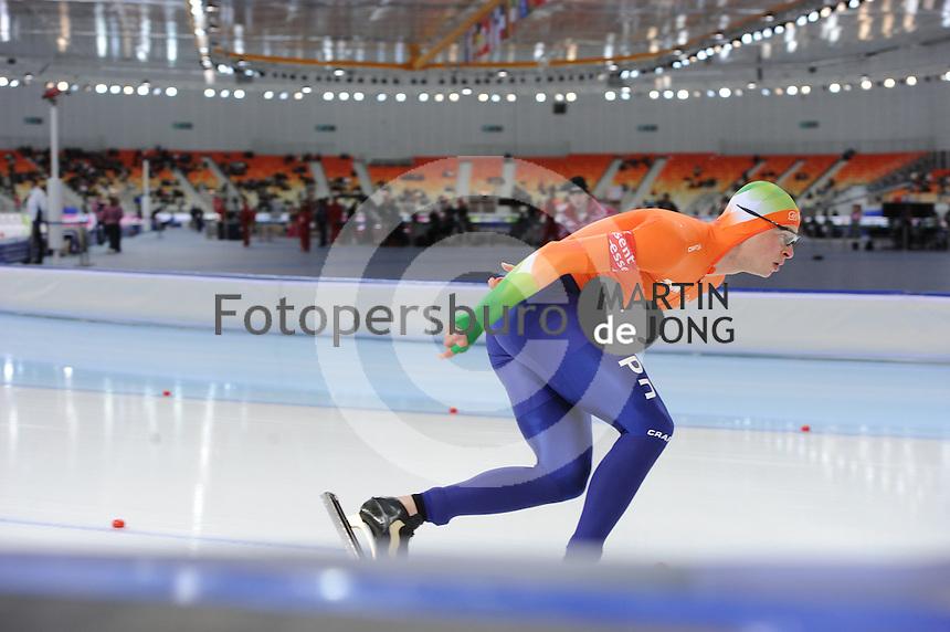 SPEEDSKATING: SOCHI: Adler Arena, 23-03-2013, Essent ISU World Championship Single Distances, Day 3, 10.000m Men, Sven Kramer (NED), © Martin de Jong