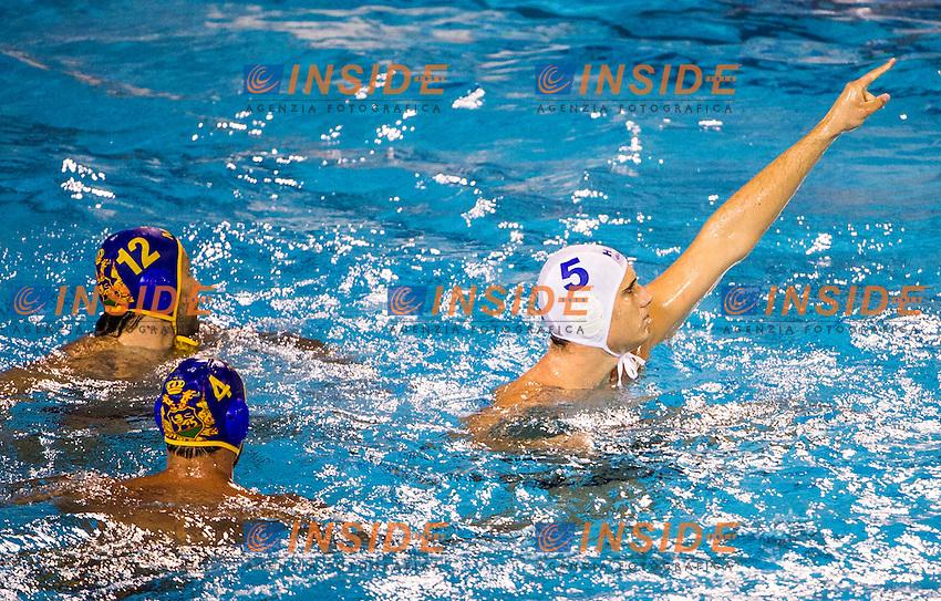 Hungary<br /> Hungary HUN (gold medal) - Montenegro MNE (silver medal)<br /> final 1st-2nd<br /> 15 FINA World Aquatics Championships<br /> Day-15 Waterpolo Men<br /> Barcelona 19 July - 4 August 2013<br /> Photo G.Barbagelata/Insidefoto/Deepbluemedia.eu