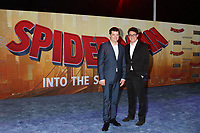 "LOS ANGELES - DEC 1:  Christopher Miller, Phil Lord at the ""Spider-Man:  Into the Spider-Verse"" Premiere at the Village Theater on December 1, 2018 in Westwood, CA"