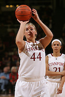 STANFORD, CA - JANUARY 14:  Joslyn Tinkle of the Stanford Cardinal during Stanford's 80-43 win over the Washington State Cougars on January 14, 2009 at Maples Pavilion in Stanford, California.