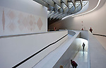 Rome, Italy; May 27, 2012 -- MAXXI, National Museum of the 21st Century Arts, designed by Zaha Hadid and erected in the Flaminio district; architecture, tourism, culture, art -- Photo: © HorstWagner.eu
