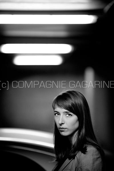 Portrait of a young woman in her twenties (Belgium, 19/02/2012)