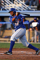 June 18th 2008:  Luis Rivera of the Auburn Doubledays, Class-A affiliate of the Toronto Blue Jays, during a game at Dwyer Stadium in Batavia, NY.  Photo by:  Mike Janes/Four Seam Images