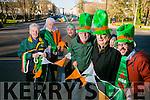 St Patrick's parade Michael Gaffney, Johnnie Wall, Sean Lyons Martin Brosnan Danny Leane, John Drummey