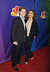 PASADENA, CA - JANUARY 16: Actors Gavin Stenhouse (L) and Margarita Levieva attend the NBCUniversal 2015 Press Tour at the Langham Huntington Hotel on January 16, 2015 in Pasadena, California.