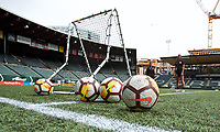 Portland, OR - Friday, September 21, 2018: Thorns FC train at Providence Park.