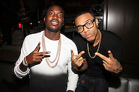 NEW YORK, NY - SEPTEMBER 26:..Meek Mill & Bow Wow attend the NBA 2K13 Premeire at 40/40.....© Walik Goshorn / Retna Ltd. /MediaPunch Inc. /NortePhoto