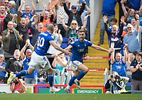 Luke Garbutt of Ipswich Town celebrates his opening goal during Ipswich Town vs Sunderland AFC, Sky Bet EFL League 1 Football at Portman Road on 10th August 2019