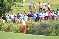 Sergio Garcia (ESP) on the 1st fairway during Round 4 of the HNA Open De France at Le Golf National in Saint-Quentin-En-Yvelines, Paris, France on Sunday 1st July 2018.<br /> Picture:  Thos Caffrey | Golffile