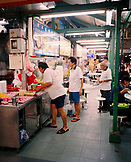 SINGAPORE, Asia, people in Newton Food Center