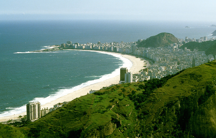 Brazil: Rio de Janiero, View from Sugar Loaf Mountain.  Photo: amazon104.Photo copyright Lee Foster, 510/549-2202, lee@fostertravel.com, www.fostertravel.com