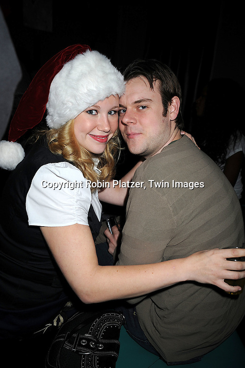 Caitlin Van Zandt and boyfriend Dan Tighe..at The Stockings With Care Benefit at Bar 13 on  December 4, 2008 in New York City. ......Robin Platzer, Twin Images