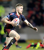 Picture by Chris Mangnall/SWpix.com - 02/02/2018 - Rugby League - Betfred Super League - Salford Red Devils v Wigan Warriors - AJ Bell Stadium, Salford, England -<br />