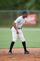 Kiobel Lugo (1) during the WWBA World Championship at the Roger Dean Complex on October 11, 2019 in Jupiter, Florida.  Kiobel Lugo attends Redan High School in Stone Mountain, GA and is committed to Walters State CC.  (Mike Janes/Four Seam Images)